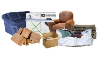 9 yard skip rubbish collection